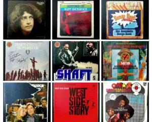 alcuni dei dischi di papà